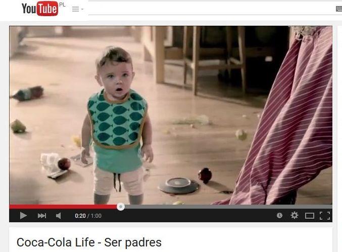 reklama Coca Coli life