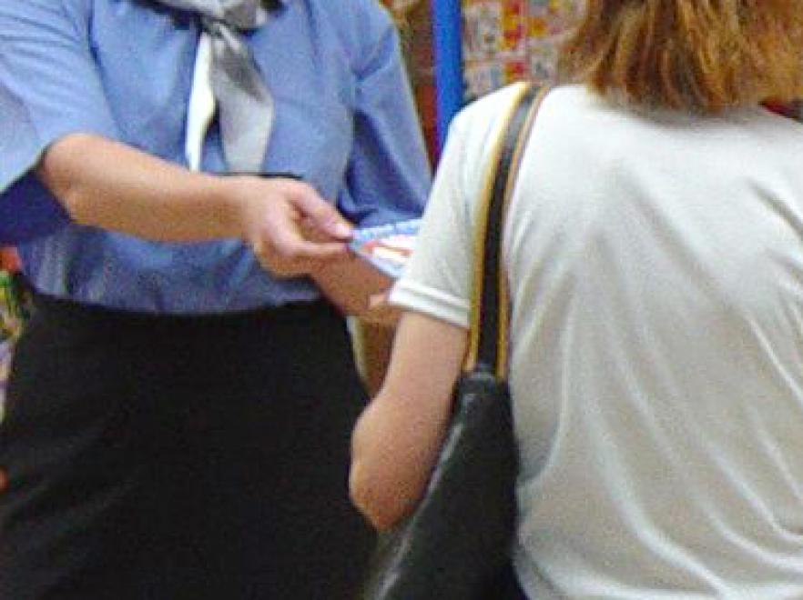 Anna Guzik pracowała jako hostessa