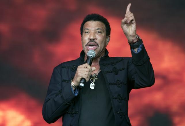 Lionel Richie na Glastonbury 2015
