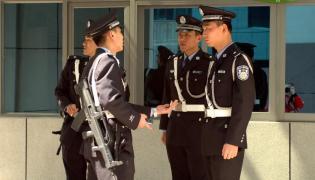 Chińska policja