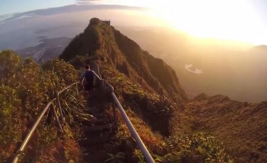 Hawaje, Haiku Stairs, Schody do nieba