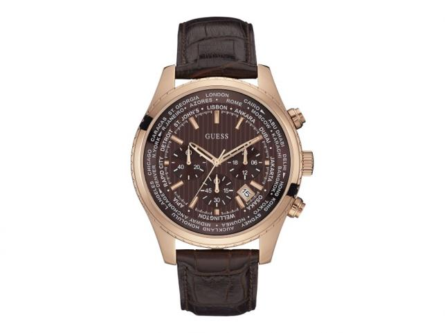 Elegancik. Zegarek w stylu GUESS W0500G3, cena ok. 935 zł