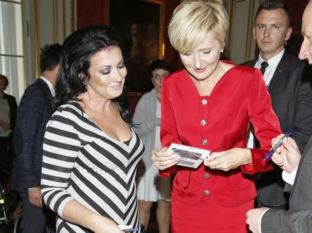 Alicja Węgorzewska i Agata Kornhauser-Duda