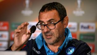 Trener piłkarzy SSC Napoli Maurizio Sarri