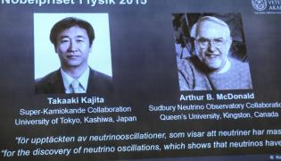 Takaaki Kajita i Arthur B. McDonald