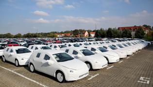 Plac pełen VW