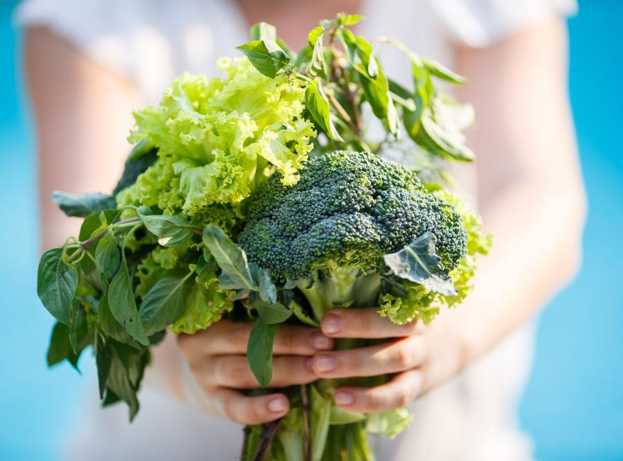 Zielone warzywa kapustne