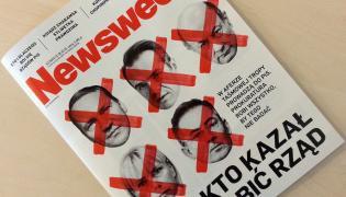 """Okładka """"Newsweeka"""" z 12 października 2015 roku: Kto kazał zabić rząd"""