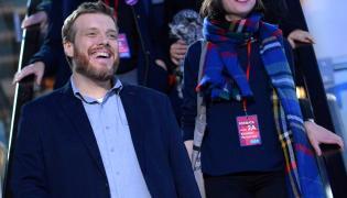 Adrian Zandberg z Partii Razem po debacie