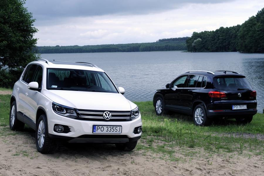 Volkswagen tiguan - 4. miejsce w zestawieniu
