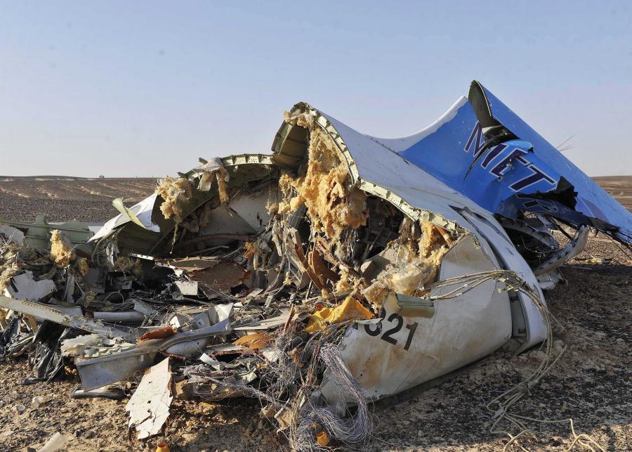Katastrofa rosyjskiego samolotu