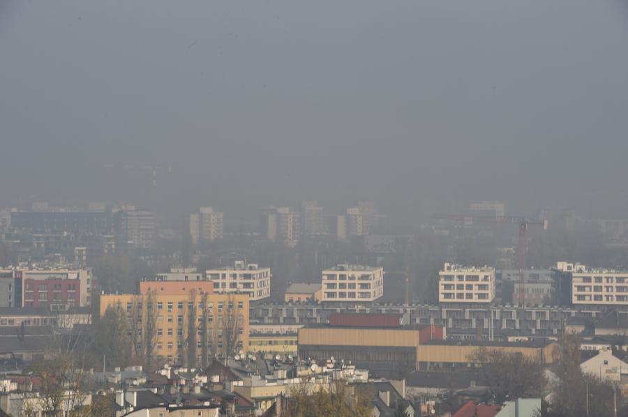Smog w Krakowie. Kraków w smogu