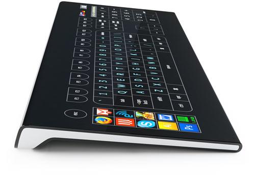 Klawiatura z ekranem dotykowym zamiast klawiszy