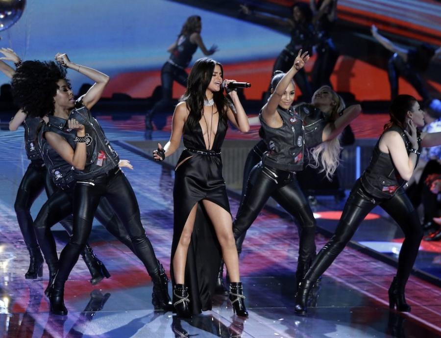 Selena Gomez na pokazie Victoria's Secret