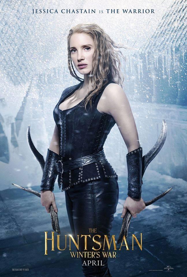 Jessica Chastain jako wojowniczka Sara