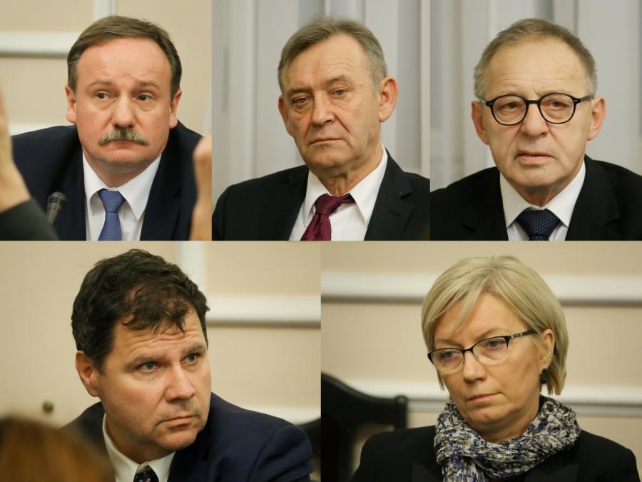 Sędziowie TK