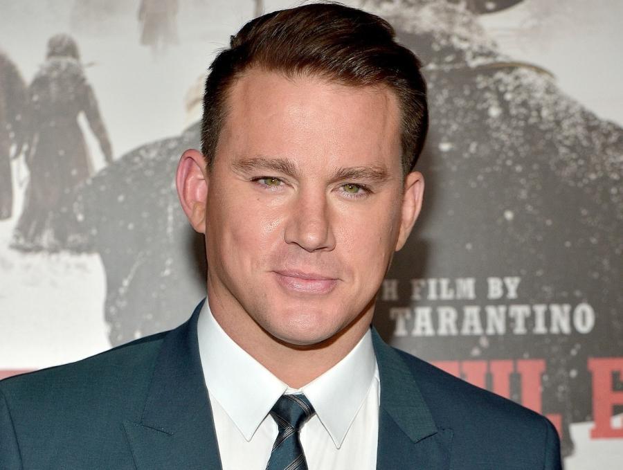 Channing Tatum na premierze w Los Angeles