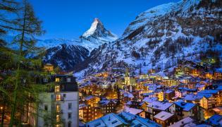 Matterhorn, Alpy, Szwajcaria
