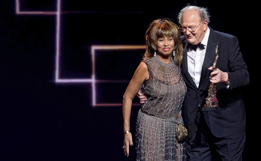 Tina Turner i duński producent Joop van den Ende