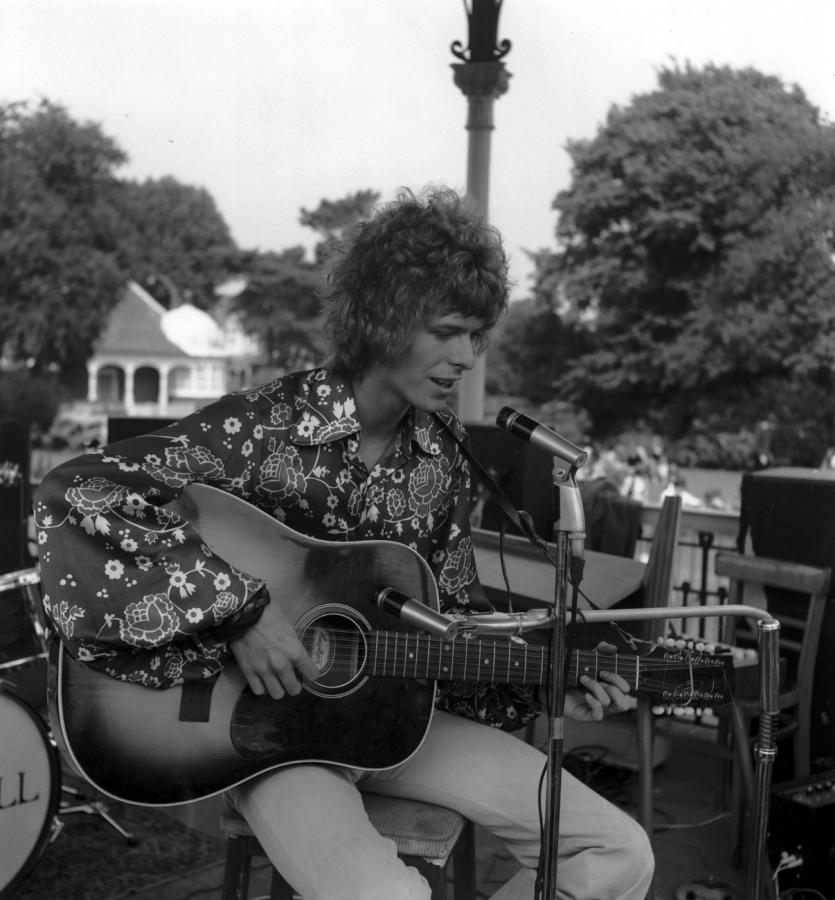 David Bowie w 1969 roku