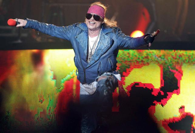 Guns N'Roses najpierw zagra w Las Vegas