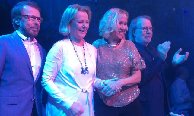 ABBA znów razem. Muzyków legendarnej grupy spotkanie po latach [ZDJĘCIA]