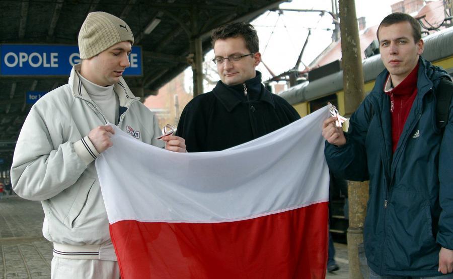 Patryk Jaki w 2006 roku, kiedy działał w Młodych Konserwatystach