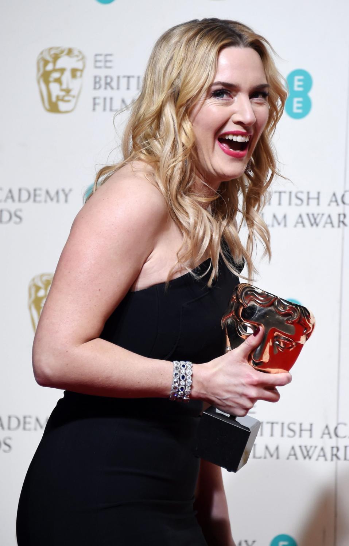 Kate Winslet z nagrodą BAFTA dla najlepszej aktorki drugoplanowej