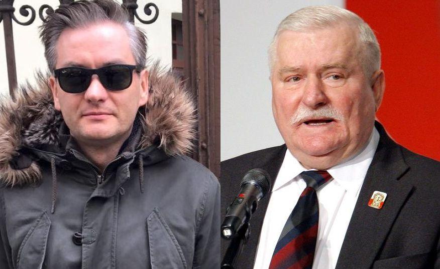 Robert Biedroń, Lech Wałęsa