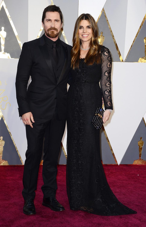 Christian Bale i Sibi Blazic na Oscarach