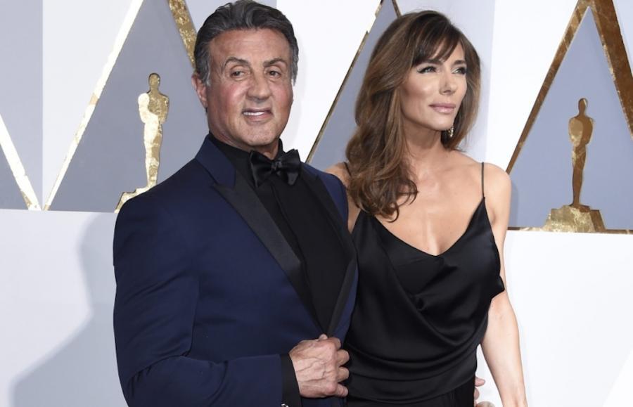 Najwięksi przegrani Oscarów 2016: Sylvester Stallone (z żoną Jennifer Flavin)
