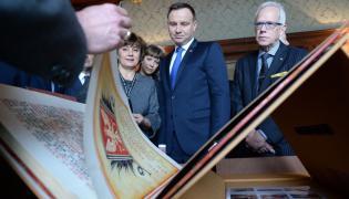 Prezydent Andrzej Duda w Bibliotece Kongresu USA