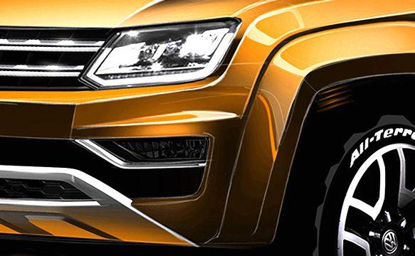 Volkswagen amarok - nowy pikap z Niemiec