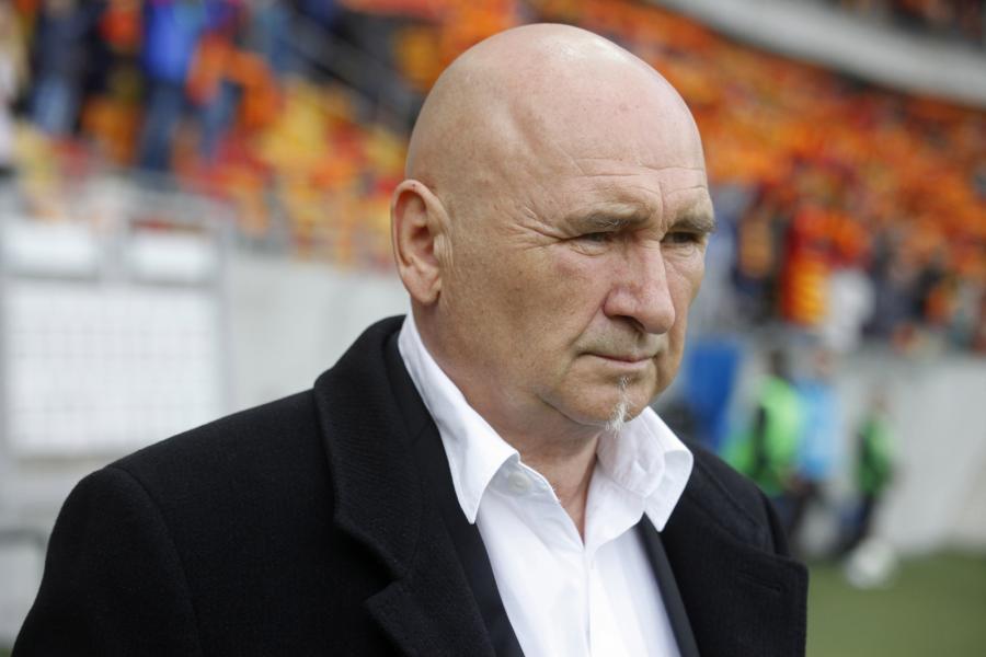 Trener Górnika Zabrze Jan Żurek