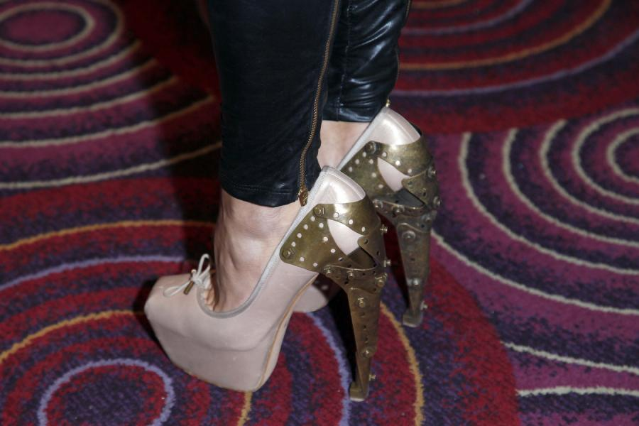 Doda, buty od Aleksandra McQueen\'a