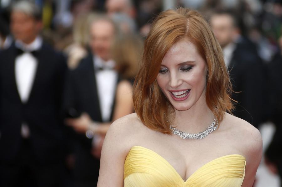 Jessica Chastain na gali otwarcia 69. Festiwalu Filmowego w Cannes