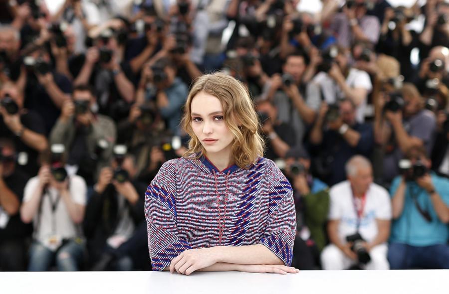 Lily-Rose Depp debiutowała w Cannes