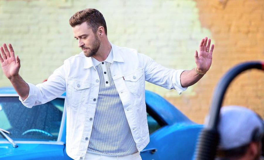 "Justin Timberlake w klipie do ""Can't Stop the Feeling"""