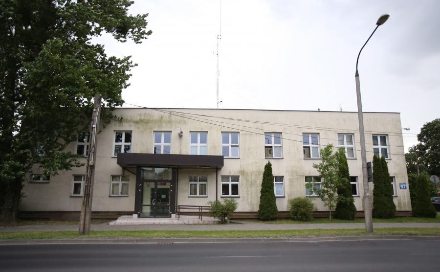 Komisariat policji przy ul. 17 Stycznia w Warszawie