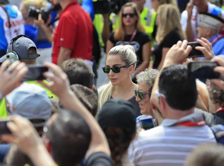"""Coco Austin i Lady Gaga """"lansowały"""" się na torze w Indianapolis"""