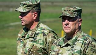 Dowódca sił USA w Europie generał Ben Hodges