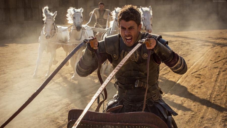"Toby Kebbell w filmie ""Ben-Hur"""