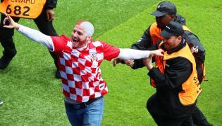Kibic reprezentacji Chorwacji
