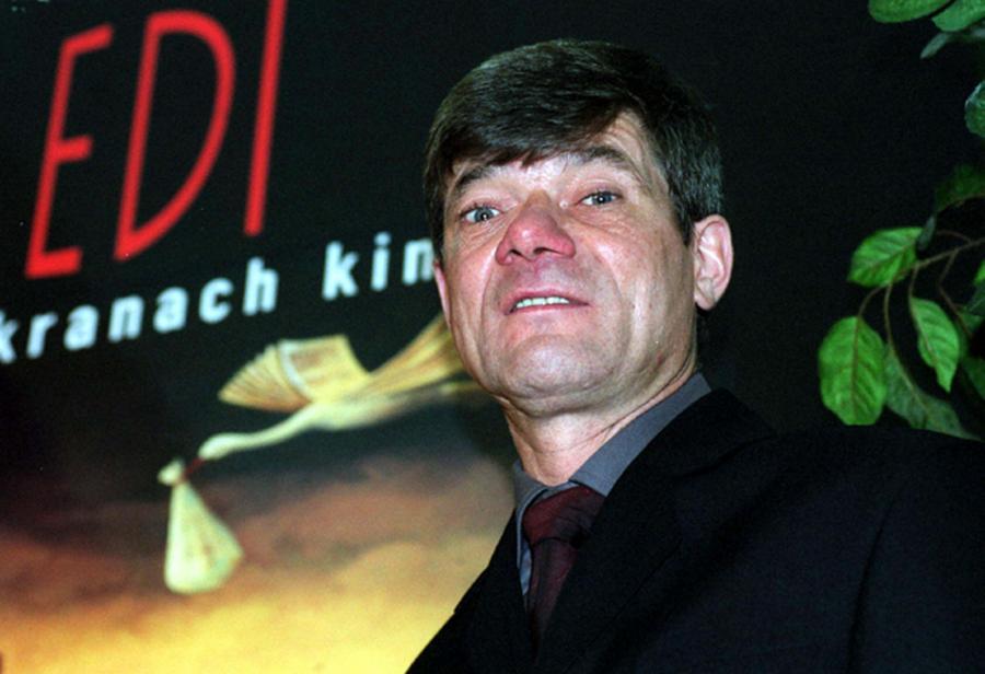 Henryk Gołębiewski na festiwalu w Gdyni w 2002 roku