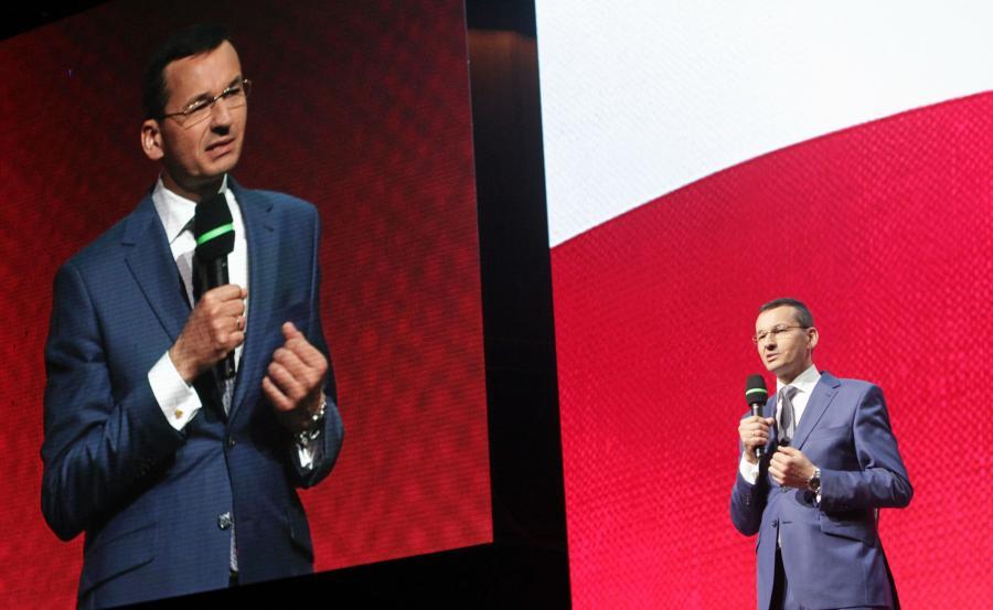 Wicepremier i minister rozwoju Mateusz Morawiecki przemawia podczas Kongresu Impact\'16