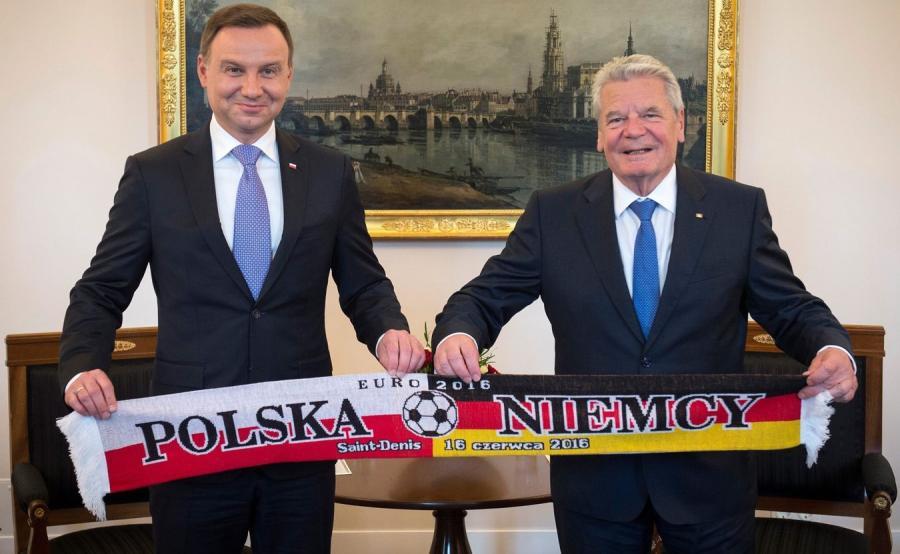 Andrzej Duda i Joachim Gauck