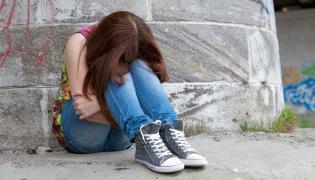 Nastolatka w depresji