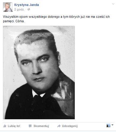 ojciec Krystyny Jandy
