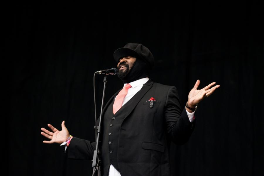 Gregory Porter na Glastonbury 2016