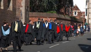 Studenci Uniwersytetu Cambridge